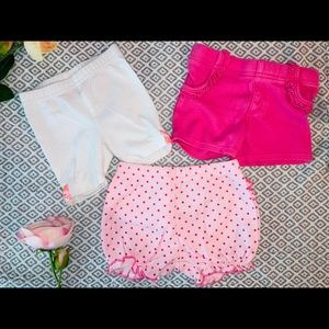 Other - 0-3 month baby girl shorts